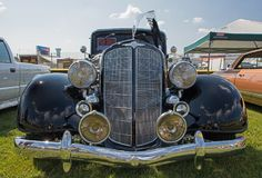 1934 Buick. CONCORD, NC - April 8, 2017:  A 1934 Buick automobile on display at the Pennzoil AutoFair classic car show held at Charlotte Motor Speedway Stock Photography