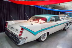 1959 DeSoto. CONCORD, NC - September 22, 2017:  A 1959 DeSoto automobile on display at the Pennzoil AutoFair classic car show held at Charlotte Motor Speedway Stock Images