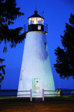 Concord Point Lighthouse At Sunset Royalty Free Stock Images