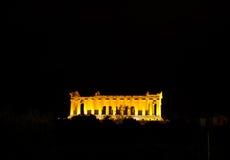 Concorde świątynia - Agrigento Zdjęcie Royalty Free