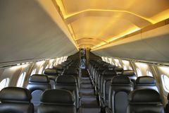 Concorde Cabin Stock Images