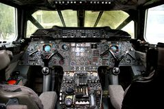 Free Concorde Cockpit Royalty Free Stock Photo - 46659135