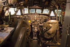 Concorde-Cockpit, das alle Skala und Detail zeigt lizenzfreie stockbilder