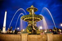 concorde de fountain Λα θέση Στοκ εικόνες με δικαίωμα ελεύθερης χρήσης