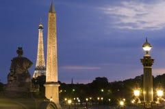 concorde de losu angeles Paris miejsce Zdjęcie Stock