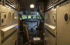 Concorde kokpit zdjęcia royalty free