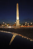 concorde noc Paris kwadrat Obrazy Stock
