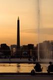 The Concorde obelisk Stock Photography