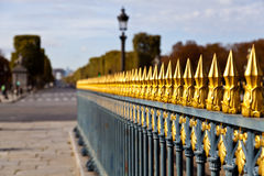 Concorde Picket Fence Royalty Free Stock Photos
