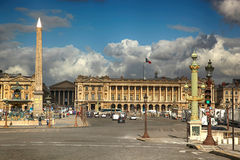 Concorde place in Paris, France Royalty Free Stock Image