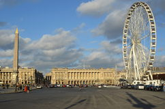 Concorde square, general view, paris Royalty Free Stock Image
