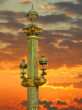 Concorde Square Lamp Royalty Free Stock Image