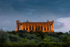 Concorde Temple - Agrigento Royalty Free Stock Image