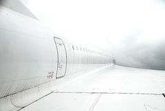 Concorde Wing. The right wing of a Concorde airplane Royalty Free Stock Photography