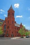 Concordia在华盛顿特区的德语宣教会和神父寓所 免版税库存照片