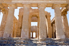 Concordia寺庙-寺庙的谷 免版税库存图片