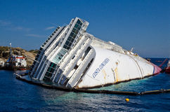 Concordia Косты круиза стоковое фото rf
