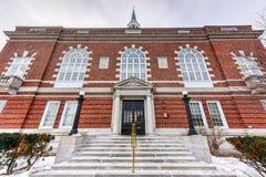 Concordia, ayuntamiento New Hampshire Fotos de archivo libres de regalías