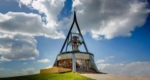 Concordia Bell, Kronplatz, Tirol sul, Itália imagem de stock