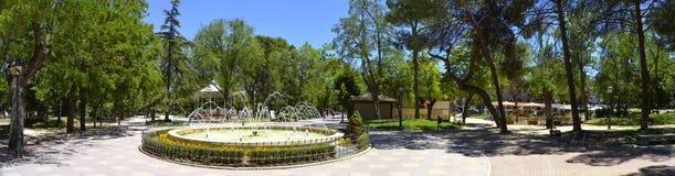 Concordia del parque en el giuadalajara España Imagenes de archivo