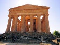 Concordia do della de Tempio Fotografia de Stock