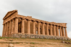 Concordia greek temple in Agrigento Stock Photography