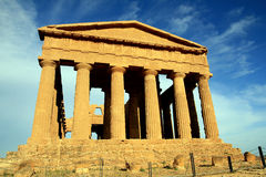 Concordia greek temple, Agrigento - Italy Royalty Free Stock Image