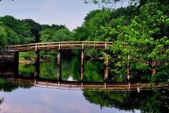 Concordia, mA: Puente del norte viejo Imagenes de archivo