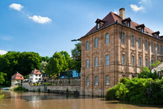 The Concordia Palace, Bamberg Stock Photography