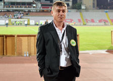 Concordia's press officer Florin Petrescu Stock Images