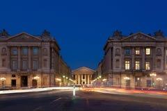Concordia square, Paris Royalty Free Stock Image