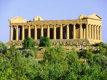 Concordia Temple in agrigento Stock Photo
