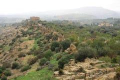 Concordia Temple Agrigento Sicily Italy Royalty Free Stock Image