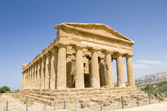 Concordia temple, Sicily Stock Photo