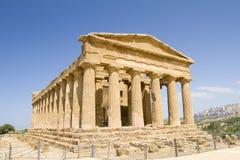 Concordia temple, Sicily Stock Photo