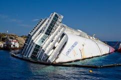 Concordia van cruisecosta Royalty-vrije Stock Foto