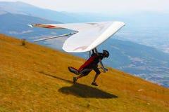 Concorrente de COM holandesa do deslizamento de cair Open-2010 Foto de Stock Royalty Free