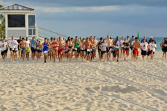 Concorrentes na maratona imagens de stock royalty free