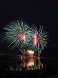 Concorrenza 2008 dei fuochi d'artificio Immagine Stock Libera da Diritti