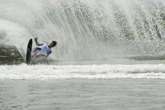 Concorrenza 2011 di Waterski dell'asiatico Immagine Stock Libera da Diritti