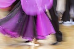 Concorrenza classica di ballo, dettaglio Immagine Stock