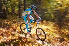 Concorrenza del buke della montagna Fotografie Stock