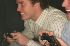 Concorrenza del video gioco Fotografia Stock Libera da Diritti