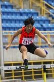 Concorrenza dell'atletica leggera Fotografie Stock Libere da Diritti