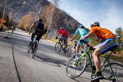 Concorrenza della bici fotografia stock libera da diritti
