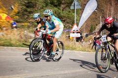 Concorrenza della bici fotografie stock