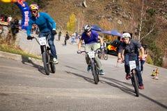 Concorrenza della bici immagini stock