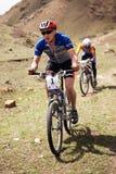 Concorrenza della bici di montagna Immagine Stock Libera da Diritti