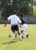 Concorrenza di calcio Fotografie Stock