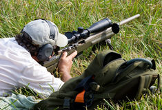 concorrenza di carità 3-Gun Immagine Stock Libera da Diritti